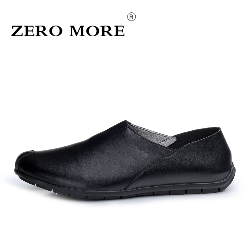 ZERO MORE Men Loafers 2017 Casual Boat Shoes Genuine Leather Slip On Driving Shoes Moccasins Hollow Out Men Flats Gommino dxkzmcm men s casual shoes genuine leather soft loafers for men slip on moccasins boat flats shoes