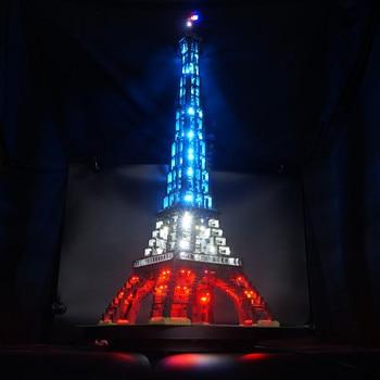 Kyglaring LED ערכת אור לגו 10181 את מגדל אייפל