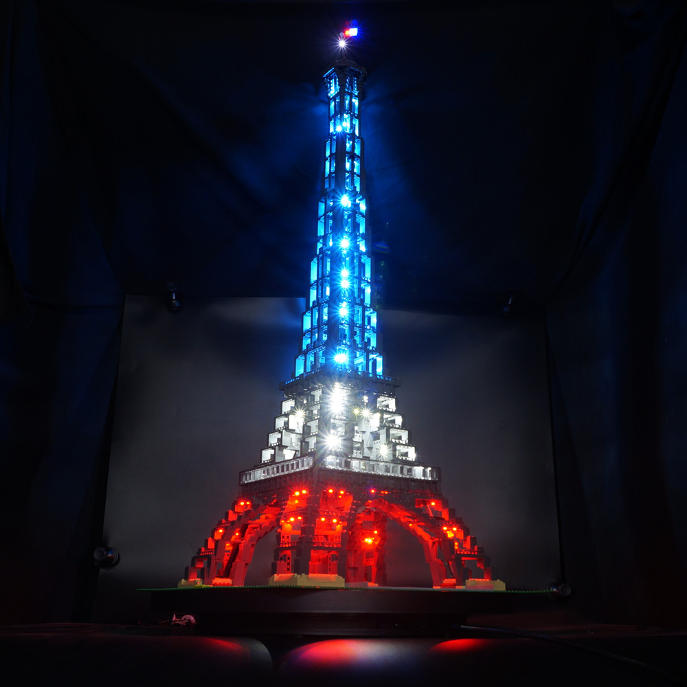 Kyglaring LED Light Kit For Lego 10181 The Eiffel Tower