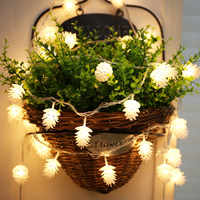 1m/2m/3m/5M LED String Lights Garland Fairy led lamp Garden Party Christmas light outdoor indoor Wedding Decoration for the home