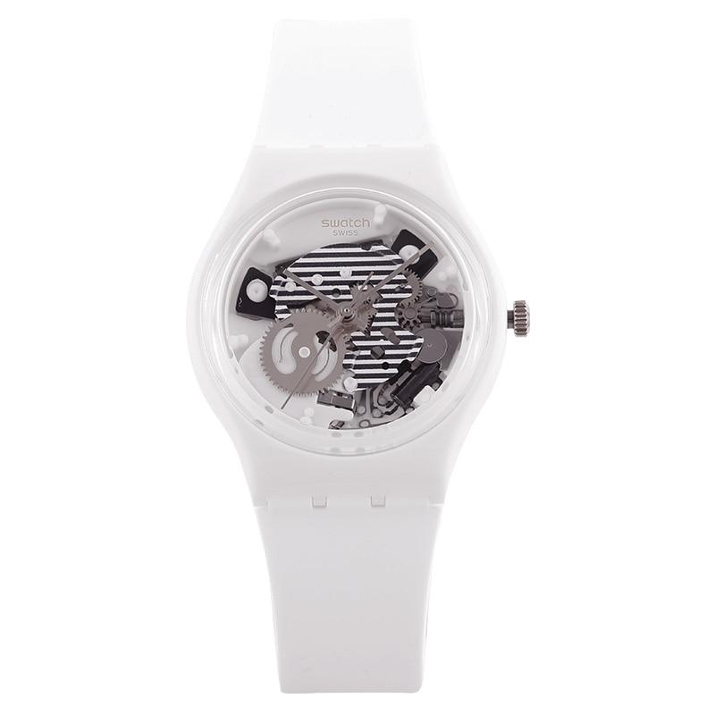 Swatch Watch Original series White quartz watch GW169 swatch original colorful quartz watch suob135