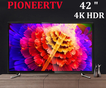 PIONEERTV 4 K LED TV 42 pulgadas familia hotel KTV TV 1080 p HD TV 1920*1080 red smart TV envío con DHL, el EMS, FedEx