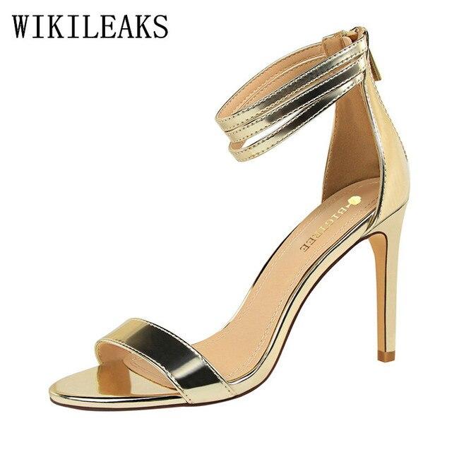 Préférence 2017 marque de luxe haute talons femmes bigtree chaussures de  WO41