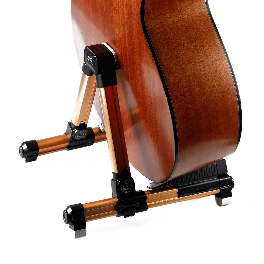 BATESMUSIC Guitar Stand Universal Folding A Frame Use for Acoustic Electric Guitars Guitar Floor Stand Holder-in Guitar Parts & Accessories from Sports & Entertainment