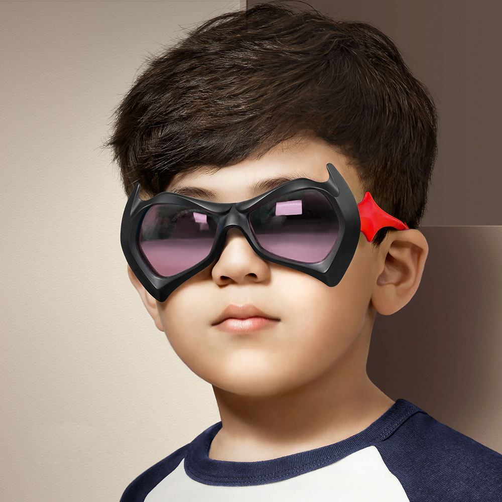 2017 New Sunglasses Children Brand Designer Kid Eyewear Cute UV400 Shades Coating Points sun Unisex Glasses Gafas Oculos de sol