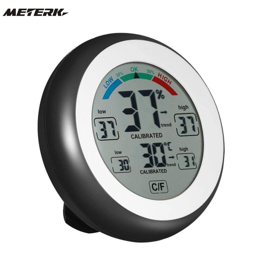 digital thermometer hygrometer temperature humidity meter. Black Bedroom Furniture Sets. Home Design Ideas