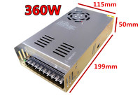Best quality 12V 30A 360W Switching Power Supply Driver for LED Strip AC 110V 240V Input to DC 12V Switch driver Good perfomance