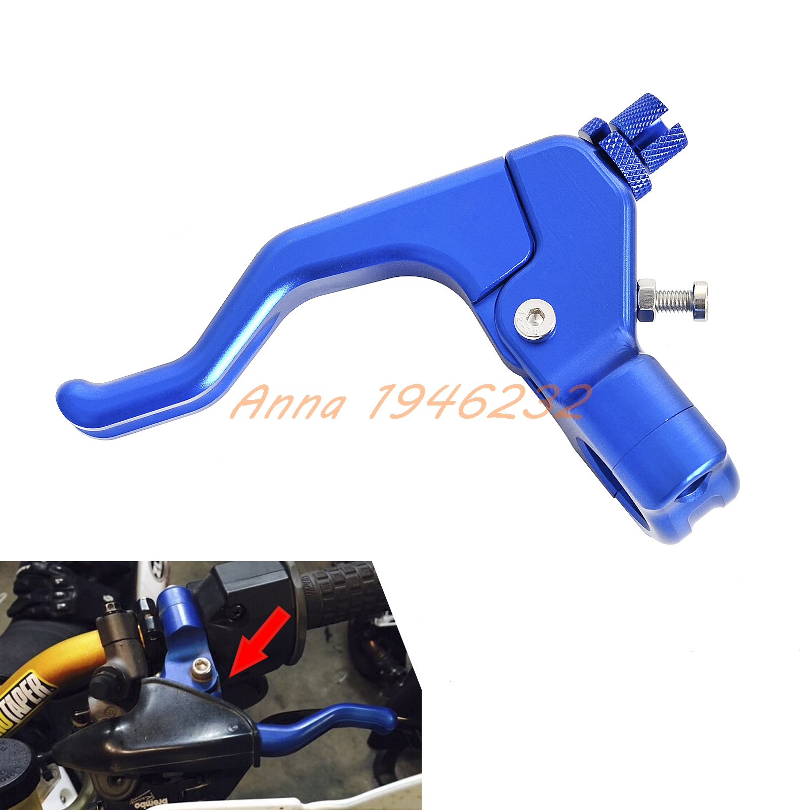 CNC Performance Stunt Clutch Lever /Clutch Perch assembly For Honda CR CRF Kawasaki KX KLX Suzuki RM DRZ Yamaha YZ WR for 22mm 7 8 handlebar motorcycle cnc t6061 aluminum performance stunt clutch lever assembly black blue