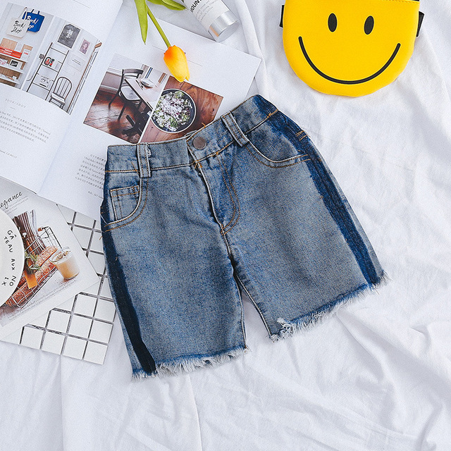 b9cd2b6a0ae Discount Sale Clothes Child Clothing Clothes Baby Boys Girls Denim Shorts  Jeans Girls Clothing Casual Korean Kids Wear Fashion