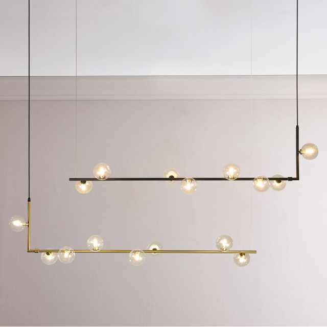 En venta Luces de araña minimalista modernas para la Mesa barra ...
