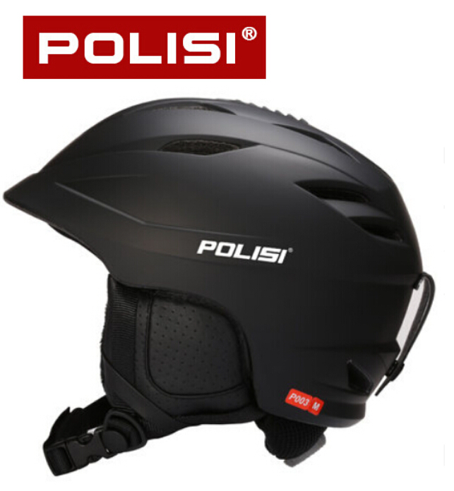 POLISI Men Women Winter Ski Skiing Snowboard Helmet Equipment Men Women Outdoor Sport Snow Skate Saftly Helmet pink ski helmets cover motorcycle skiing helmets best outdoor safety helmet for skiing snowboard skating adult men women