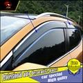 4Pcs/set car styling windows Protection Rain Shield Visor Cover For Nissan Qashqai 2016 Acrylic Window Rain Visor car decorate