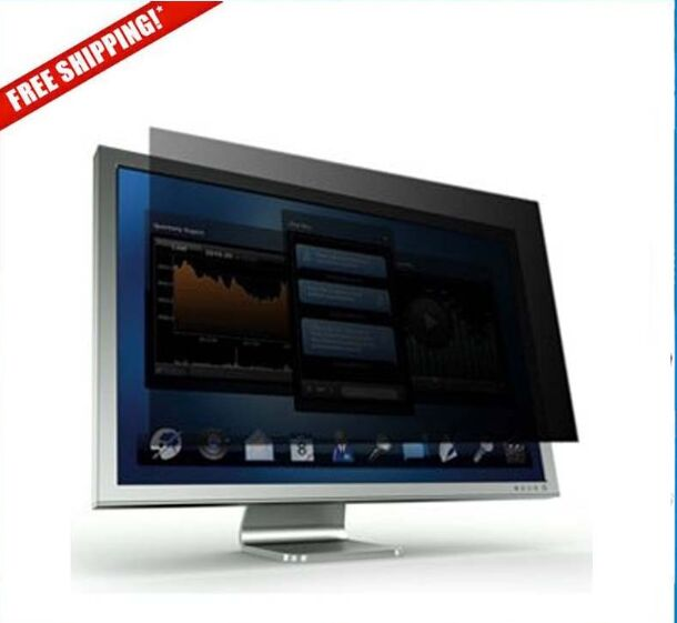 24 inch Privacy Filter Screen Protective film for 16:9 Widescreen Computer 531mm* 299mm privacy filter for 23 inch widescreen laptop pf23w9 lcd monitor privacy screen 16 9 free shipping high quality for sale