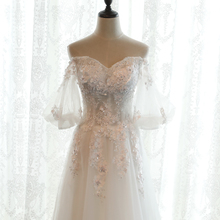 boho vintage lace wedding dress 2017bride simple sheap bridal gown real photo wedding-dress weding weeding vestido de noiva