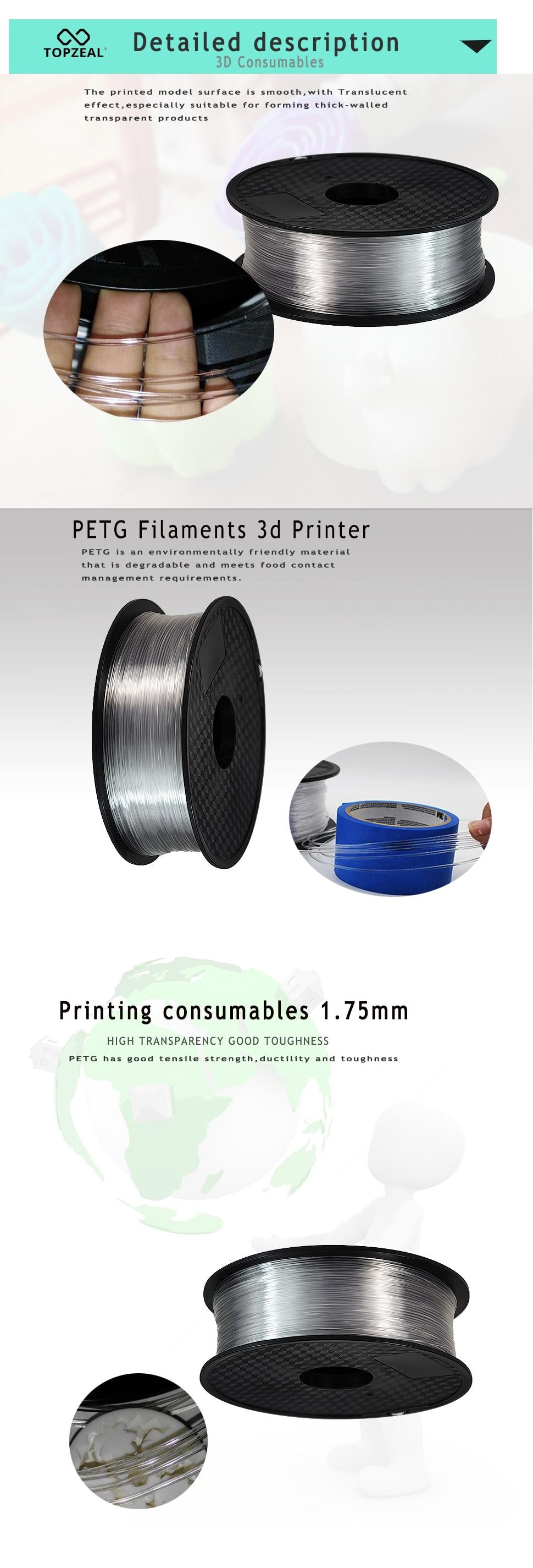 kg qualidade superior filamento da impressão 3d