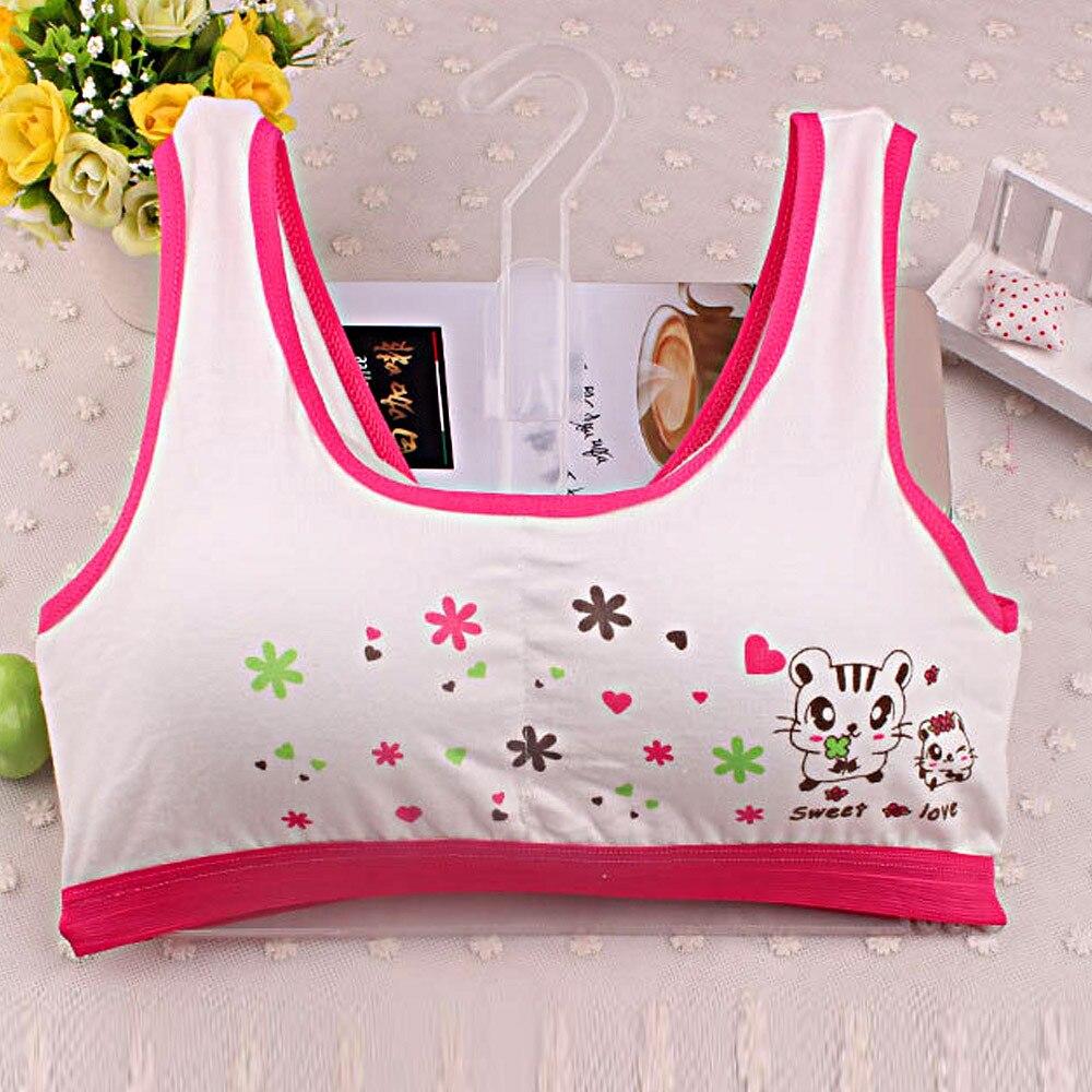 New Lovely Sportwear For Girls Sport Bra Vest Back Cross -3316