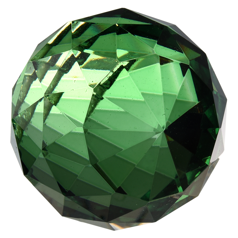 40mm Feng Shui Crystal ball Green in Chandelier Crystal from Lights Lighting