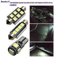 23 шт. Canbus номерной знак лампа+ DRL+ Внутреннее освещение лампы для Opel для Insignia Sedan салон универсал хэтчбек Sports Tourer 09