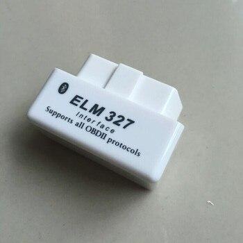 hot selling elm 327 Car Auto Interface Scanner Mini ELM327 OBD2 II Bluetooth Diagnostic Tool Compatible Phones smart scan tool