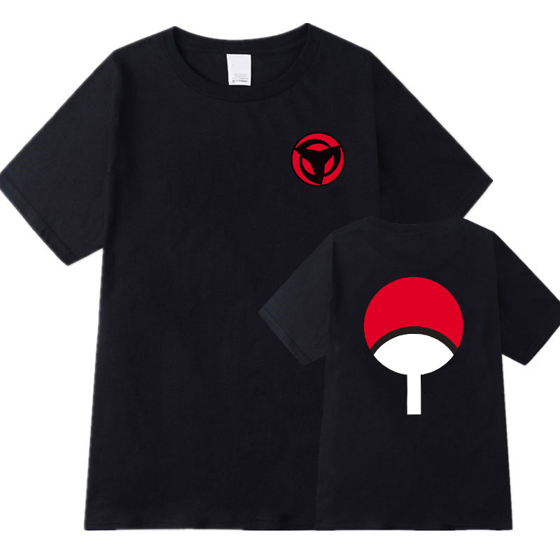 Mode décontracté Naruto t-shirt Streetwear coton t-shirts chemise camisetas hombre hommes femmes Anime dragon ball t-shirt taille S-2XL image