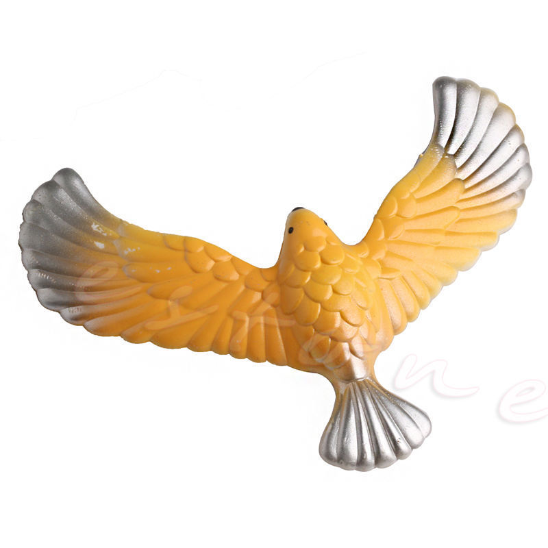 Xmas Gift Magic Balancing Bird Science Desk Toy Novelty Eagle Fun Learning Gag fun desk