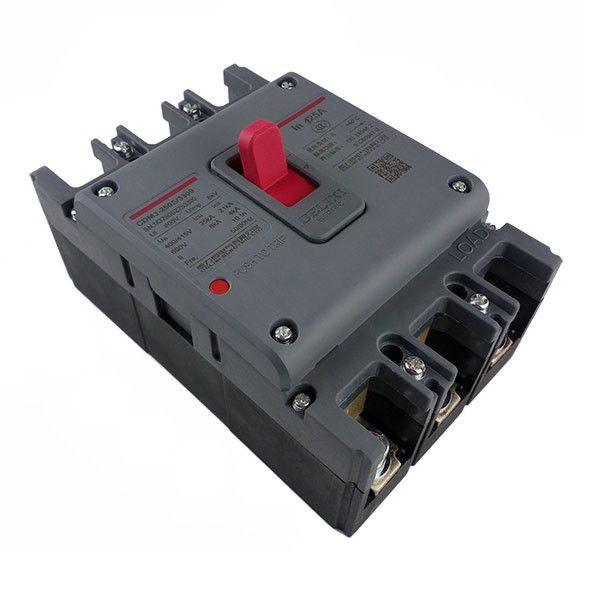 DELIXI CDM3 125A Air switch, circuit breaker leakage circuit protector air switch residual current circuit breaker dz15le 100 490 100a