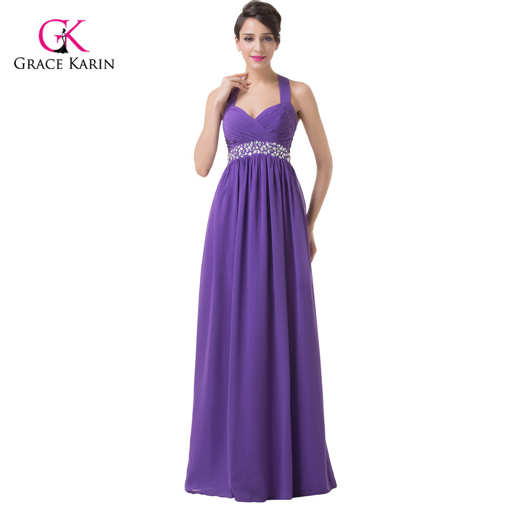 New 2015 Women's Cheap Purple Bridesmaid Dresses Under 50