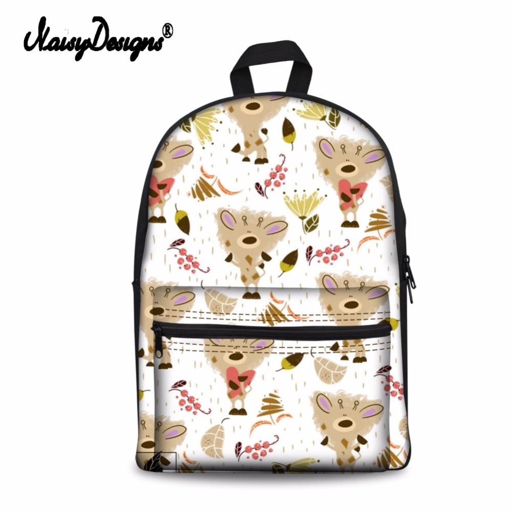 Noisydesigns ผู้หญิงกระเป๋าสัตว์ 3D Funny Cat รูปแบบนักเรียนโรงเรียนแล็ปท็อปกระเป๋าเป้สะพายหลังวัยรุ่นกระเป๋าเดินทางหญิง Rucksack-ใน กระเป๋าเป้ จาก สัมภาระและกระเป๋า บน   3