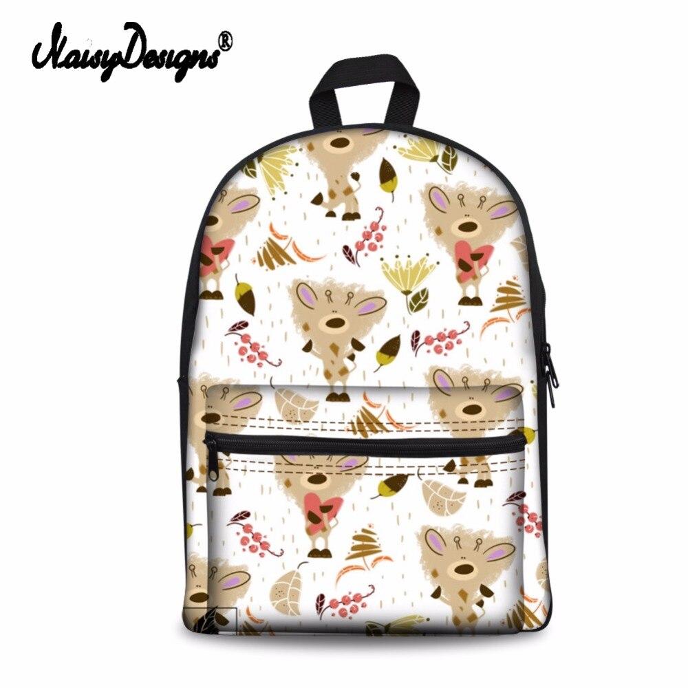 Noisydesigns 여성 학교 가방 동물 3d 재미 있은 고양이 패턴 학생 학교 노트북 캐주얼 배낭 청소년 소녀 여행 배낭-에서백팩부터 수화물 & 가방 의  그룹 3