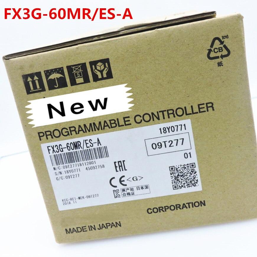 1 year warranty New original In box FX3G 60MR ES A FX3G 60MT ES A FX3G