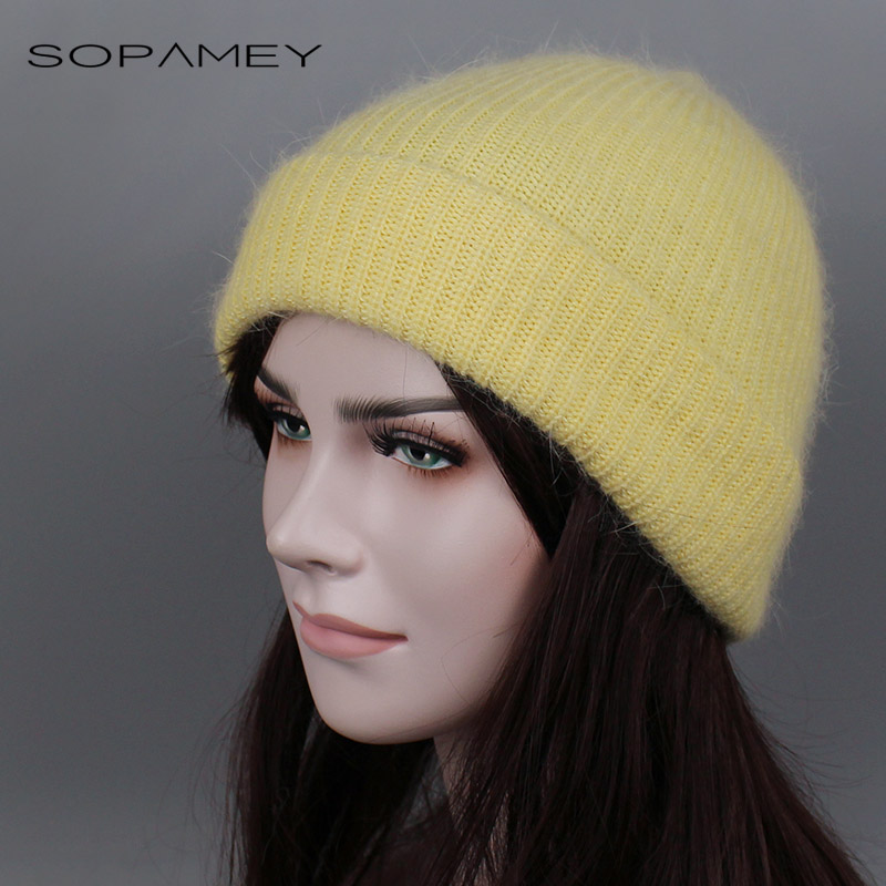 Rabbit Fur Knitted Hat Cap Women Winter Warm Wool Beanie Hat Outdoor Sport Skullies Beanies Gorro Thick Knitted Warm Casual Caps 5 5 lcd display touch glass digitizer assembly for asus zenfone 3 laser zc551kl replacement pantalla free shipping