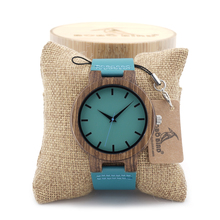 BOBO BIRD C28 Wood Wristwatches Fashion Antique Erkek Watch with Leather Band Casual Quartz Watch for Unisex in Paper Gift Box