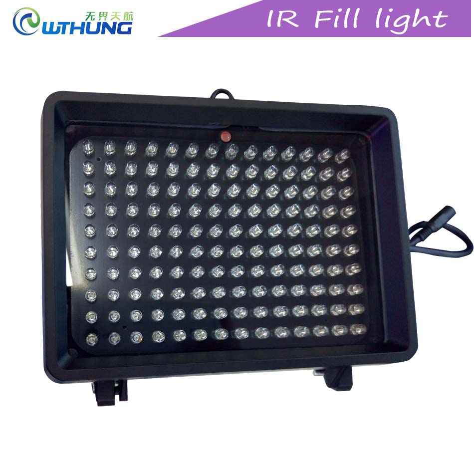 Infrared Led lamp 80 degree angle 140Pcs 850nm IR Fill Light night vision illuminator for CCTV Camera outdoor use free shipping цена
