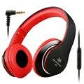 Sound intone i80 over ear auriculares con cable desmontable cable de rock metal bajo pesado auriculares casque auriculares con micrófono para el teléfono mp3