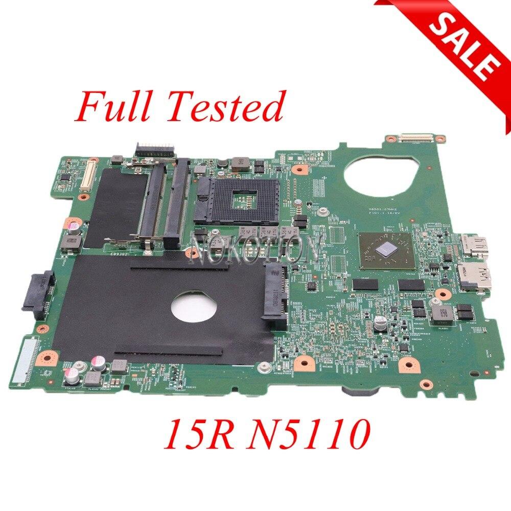 NOKOTION CN-0NKC7K 0NKC7K NKC7K mère D'ordinateur Portable Pour dell inspiron 15R N5110 HM67 DDR3 carte Principale pleine testé