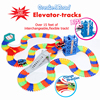 Deluxe Create A Road With Elevator Over 240pcs Of Flexible Track 15 Ft Of Track With
