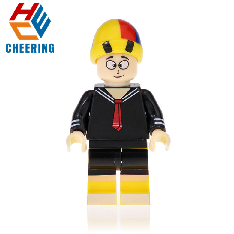 KF484 Single Sale Figures Quico El Chavo Del 8 Pablo Picasso El Chapulin Colorado Assemble Buliding Blocks For Children Toy Gift