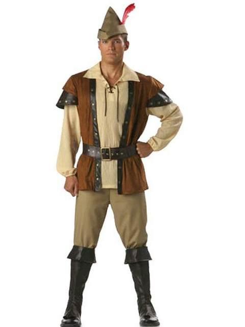 Robin Hood Adult Costume Deluxe High Quality Adult Men Magic Moment Costume Halloween W209075  sc 1 st  Aliexpress & Online Shop Robin Hood Adult Costume Deluxe High Quality Adult Men ...