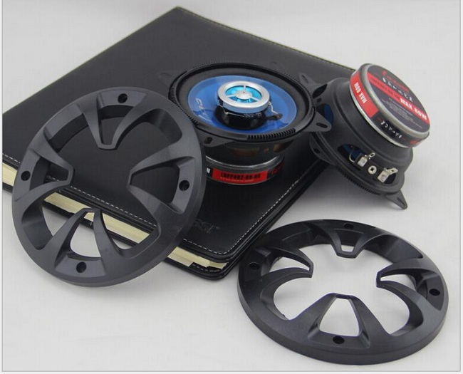 High sensitivity 1 Pair 4'' inch Car Speaker Automobile Automotive Car HIFI Full Range Bubble Gum Edge Speakers Free Shipping цена 2017