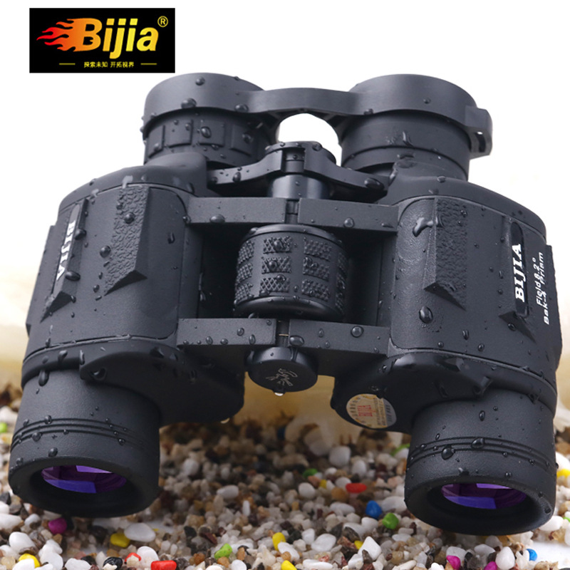 High-definition High-powered Binoculars BIJIA Genuine Non-infrared Night Vision Binoculars Camping Hunting Spotting Scopes binocular telescope high definition high double night vision non infrared for children adult concert glasses