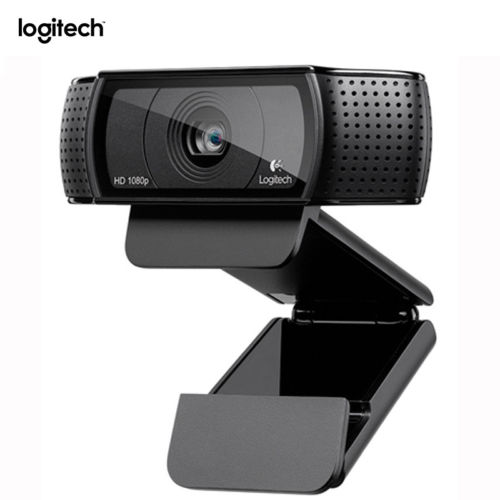 Logitech C920 HD 1080P Pro Webcam Widescreen Video Calling Recording 15MP Camera logitech c270 hd vid 720p webcam with mic micphone video calling