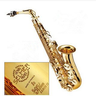 Saxophone France Henri Selmer Saxophone Alto 802  Musical Instrument  Sax Gold Curved Saxfone Mouthpiece Electrophoresis taiwan saxophone selmer 80ii alto saxophone musical instrument saxophone antique copper wind shipping