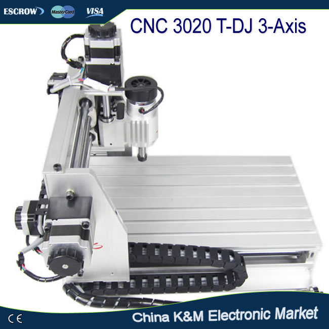 Russian tax-free shipping CNC 3020 T-DJ wood engraving machine pcb drilling router, cutting tool,milling mahine 3d cnc router cnc 6040 1500w engraving drilling milling machine cnc cutting machine 110 220v