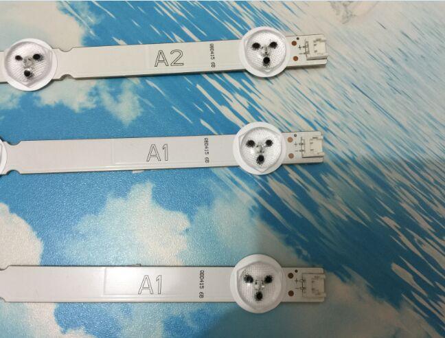 1 conjunto = 3 PCS para LG 32 polegadas LCD backlight 6916L-1204A A16916L-1426A B16916L-1205A 6916L-1105A A2 A1 (2 PCS = 7LED + 1 PCS 8LED) 100% novo