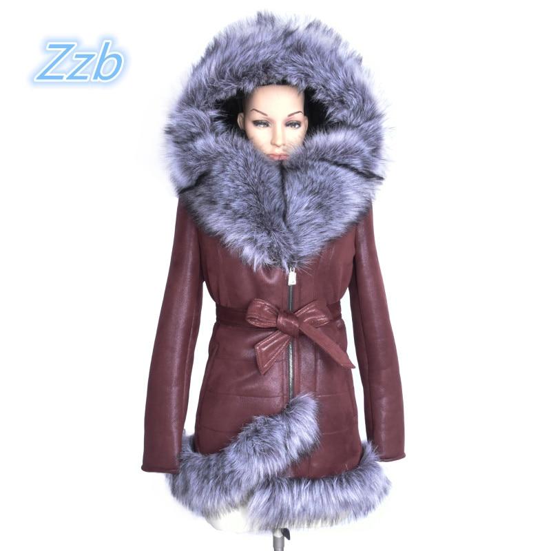 Новая мода тонкий женский мех пальто из искусственной овчины зима сопротивляться холодной большой размер куртка высокого качества брендов