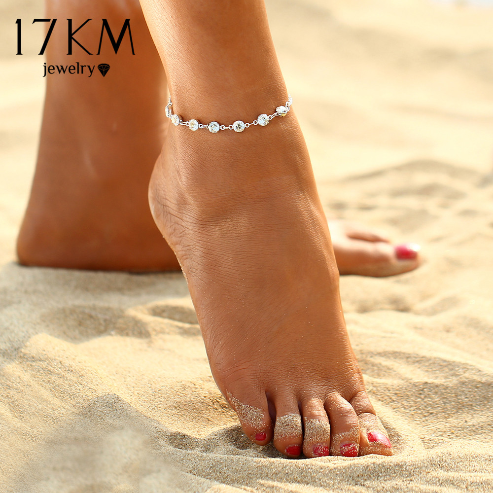 17KM-Vintage-Fashion-Crystal-Anklets-For-Women-Link-Chin-Bohemian-Gold-Silver-Color-Shoe-Boot-Chain-Bracelet-Foot-Jewelry-2017-2