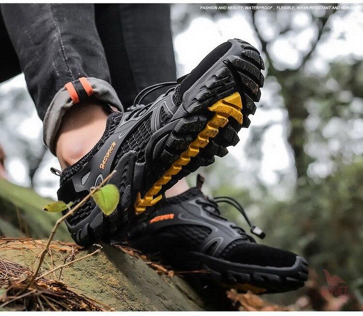 rio trekking água aqua sapatos chinelos de