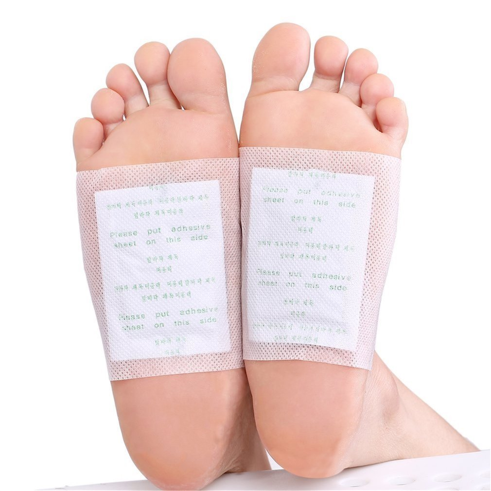 10pcs Adhesives Detox Foot Patches Natural Plant Quintessence Kits Improve Sleep Beauty Slimming Feet Patch Pads in Feet from Beauty Health