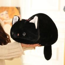 cute cat plush toys Japanese anime figure kutsushita nyanko soft doll black cat plush pillow toys for children high quality