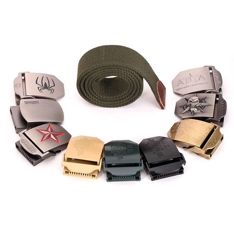 DIY Men belt Canvas s